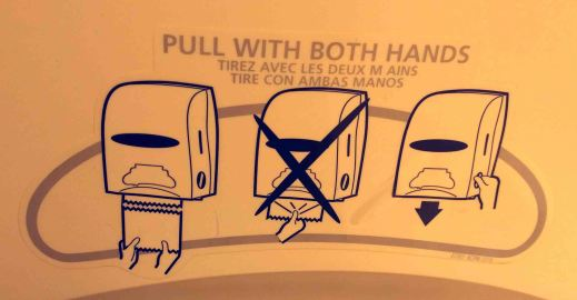 Pull with both hands